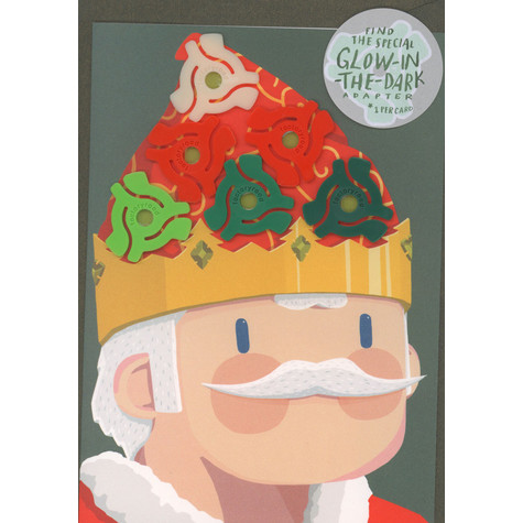 Factory Road - Christmas 'King Of Christmas' Postcard