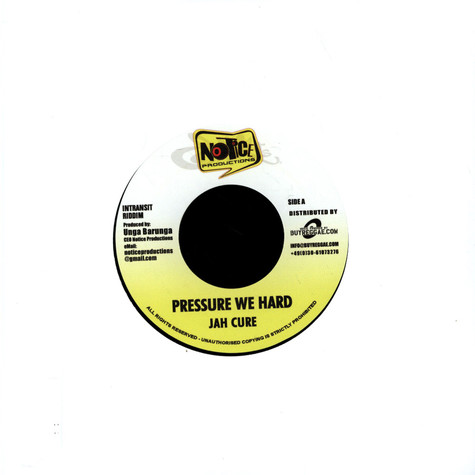 Jah Cure / Christopher Martin - Pressure We Hrad / Just Like You