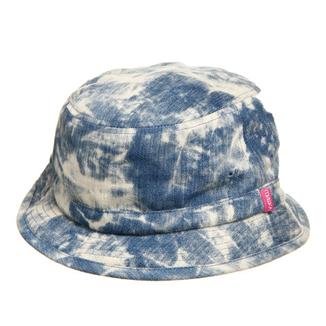 Mishka - Acid-Washed Denim Bucket Hat