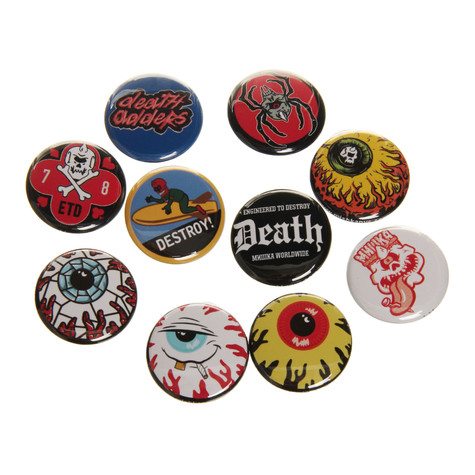 Mishka - Assorted Pin Pack (Pack of 10)