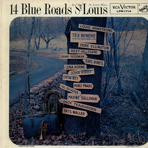 V.A. - 14 Blue Roads To St. Louis