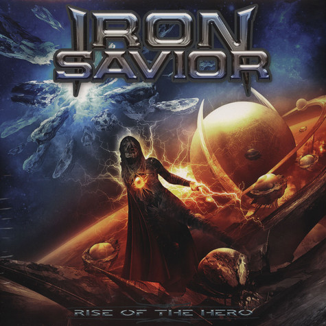 Iron Savior - Rise Of The Hero Blue Vinyl Edition