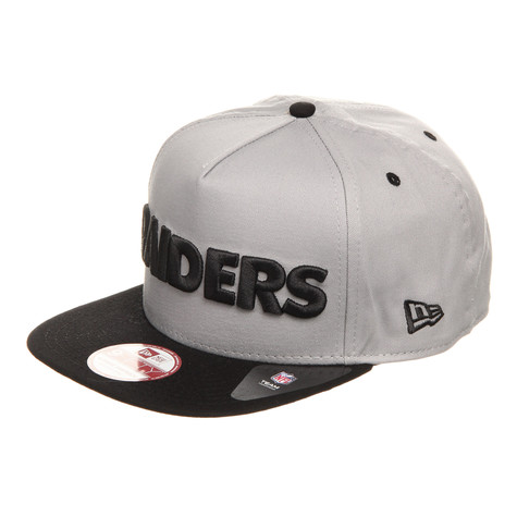 New Era - Oakland Raiders A-Tone Word Snapback Cap