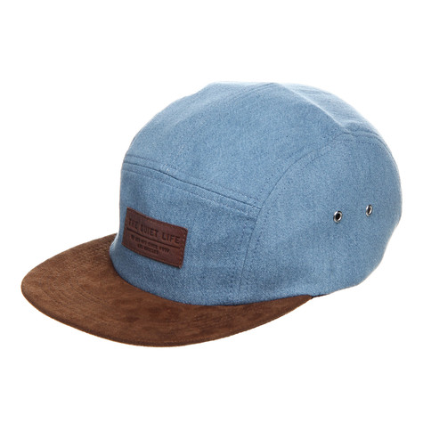 The Quiet Life - Denim 5 Panel Cap