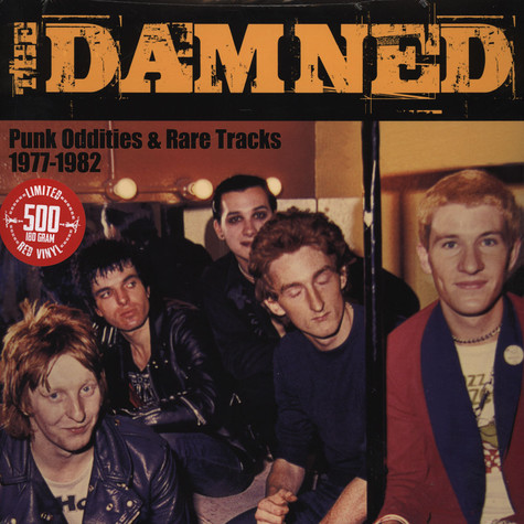 Damned, The - Punk Oddities & Rare Track 1977-1982