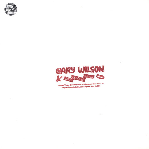 Gary Wilson & The Blind Dates - Stones Throw Direct To Disc #2