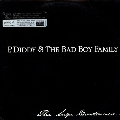 P. Diddy & Bad Boy Family, The - The Saga Continues...