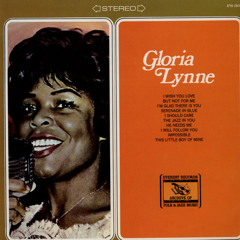 Gloria Lynne - Gloria Lynne (Including I Wish You Love)