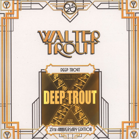 Walter Trout - Deep Trout 25th Anniversary Series LP 2