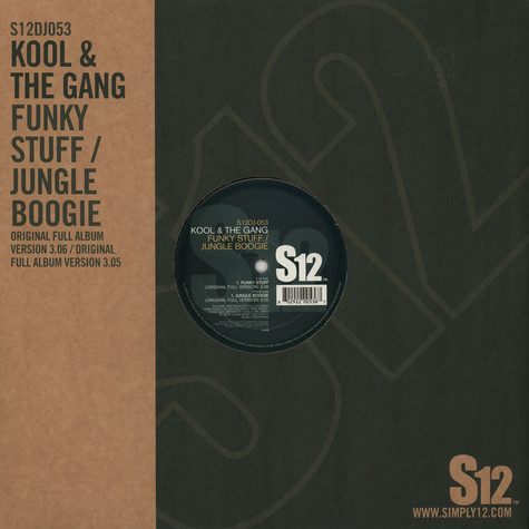 Kool & The Gang - Funky Stuff / Jungle Boogie