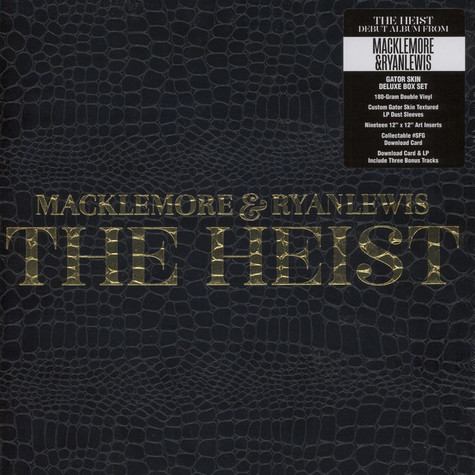 Macklemore & Ryan Lewis - The Heist Deluxe Box