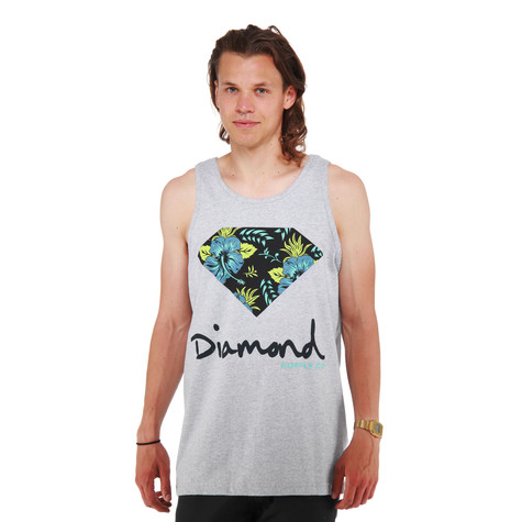 Diamond Supply Co. - Diamond Floral Tank Top