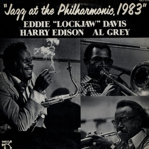 Eddie Lockjaw Davis - Jazz At The Philharmonic, 1983
