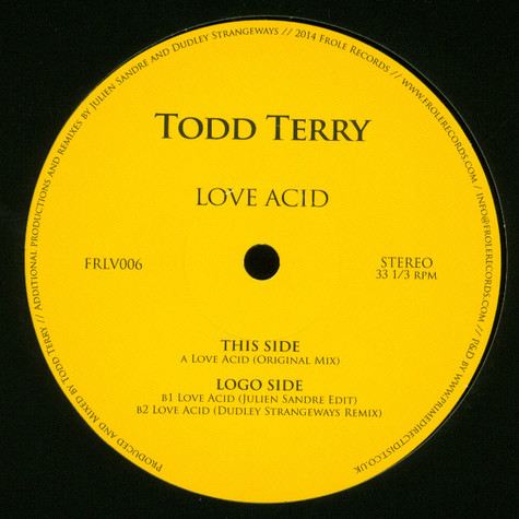 Todd Terry - Love Acid