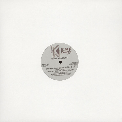 Reese (Kevin Saunderson) & Santonio - Bounce Your Body To The Box