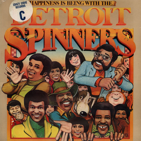 Spinners - Happiness Is Being With The Detroit Spinners