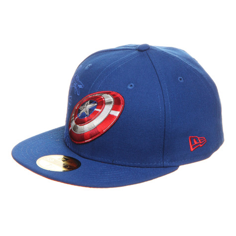 New Era x Marvel - Captain America Action Fitted 59fifty Cap