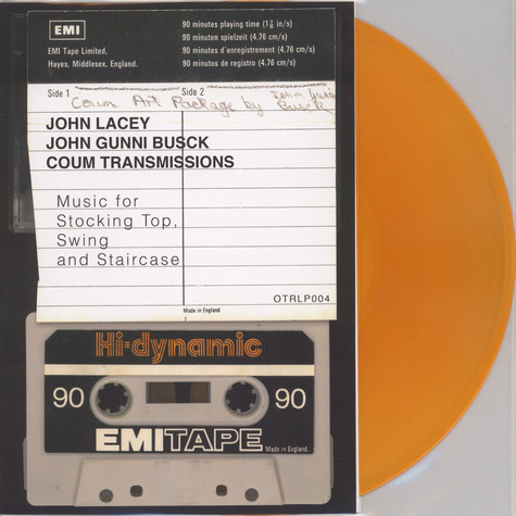 John Lacey / Coum Transmissions - Music For Stocking Top, Swing And Staircase