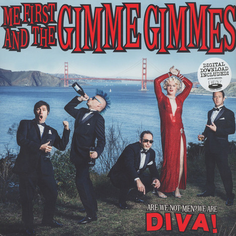Me First And The Gimme Gimmes - Are We Not Men?