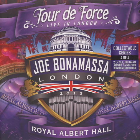 Joe Bonamassa - Tour De Force - Royal Albert Hall