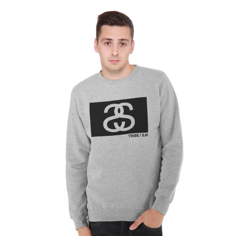 Stüssy - SS Tribe Box Crewneck Sweater