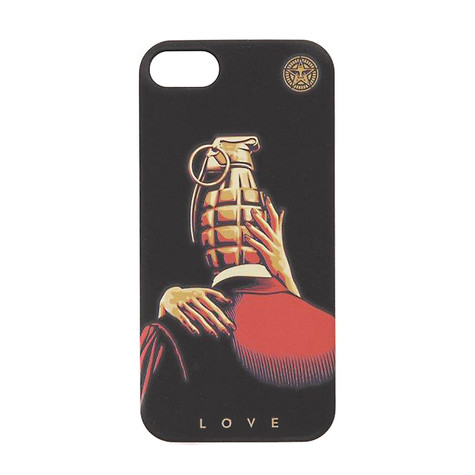 Obey - Love Is The Drug iPhone 5 Snap Case
