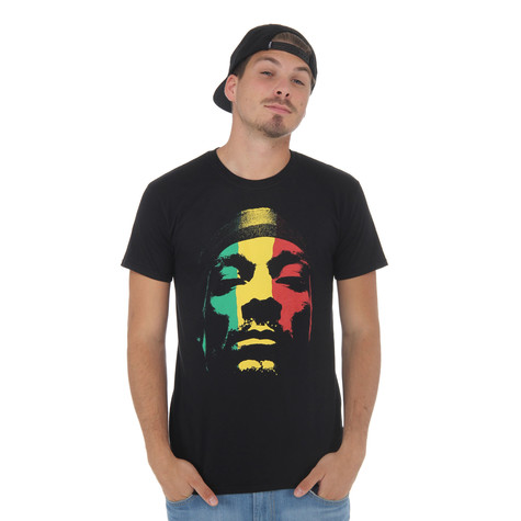 Snoop Dogg - Rasta Face T-Shirt