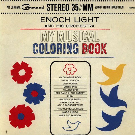 Enoch Light And His Orchestra - My Musical Coloring Book