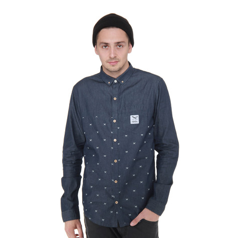 Iriedaily - Flag X Denim Shirt
