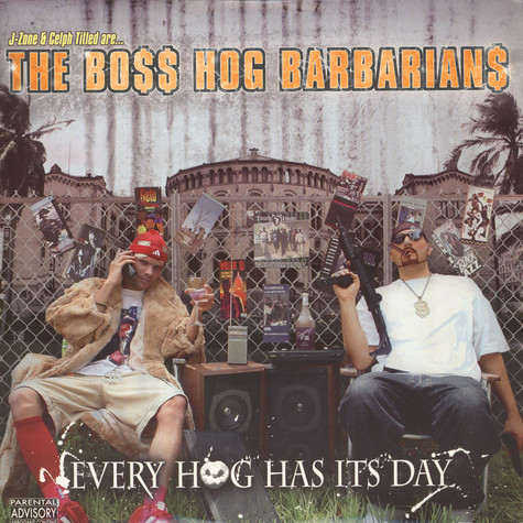 Boss Hog Barbarians, The - Every Hog Has Its Day