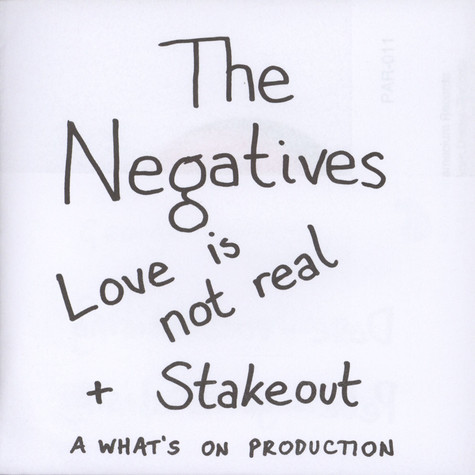 Negatives - Stake Out