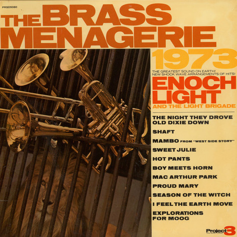 Enoch Light And The Brass Menagerie - The Brass Menagerie 1973