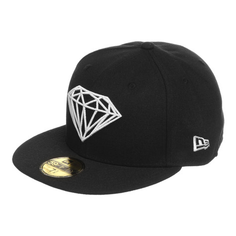 39dbdc7bf03 Diamond Supply Co. - Brilliant Fitted Hat (Black)