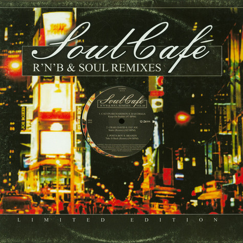 V.A. - Soul Cafe R'N'B & Soul Remixes Vol. 04