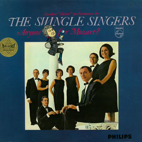 Les Swingle Singers - Anyone For Mozart?