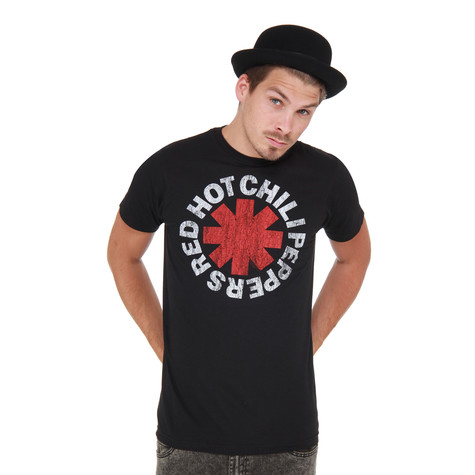 Red Hot Chili Peppers - Vintage Distressed Logo T-Shirt