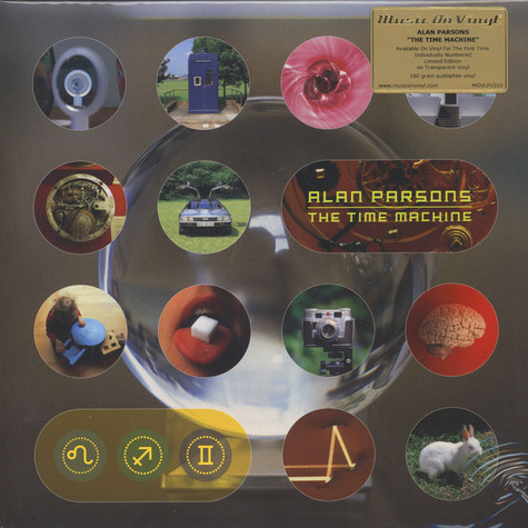 Alan Parsons - Time Machine Clear Vinyl Edition