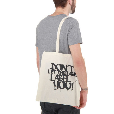 DLTLLY (Don't Let The Label Label You!) - Logo Tote Bag