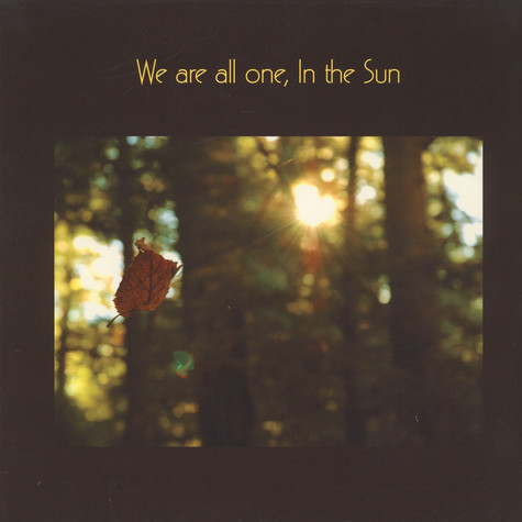 V.A. - We Are All One, In The Sun: A Tribute To Ribbie Basho