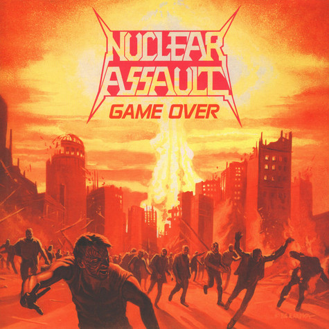 Nuclear Assault - Game Over Black Vinyl Edition