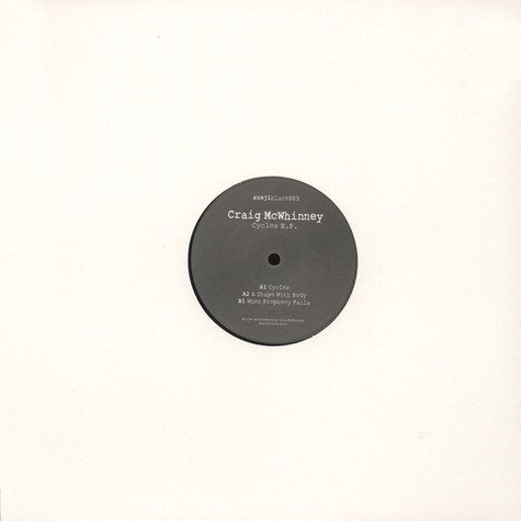 Craig McWhinney - Cycles EP