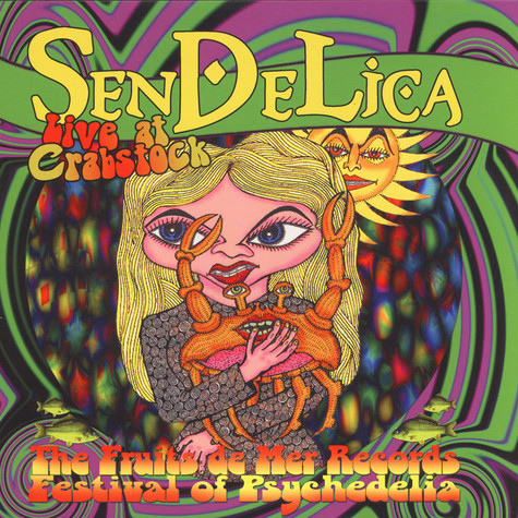 Sendelica - Live At Crabstock Black Vinyl Edition