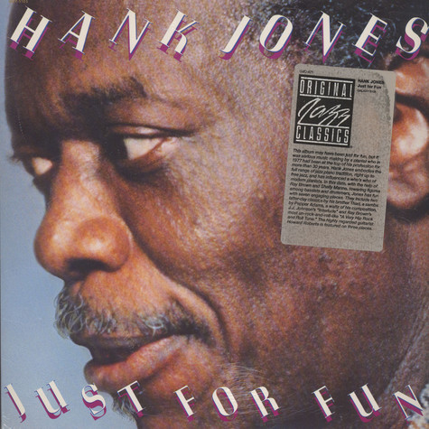 Hank Jones - Just For Fun