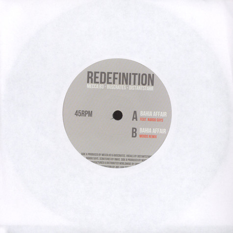 Redefinition - Bahia Affair