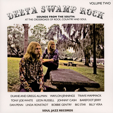 V.A. - Delta Swamp Rock Volume Two (Sounds From The South: At The Crossroads Of Rock, Country And Soul)