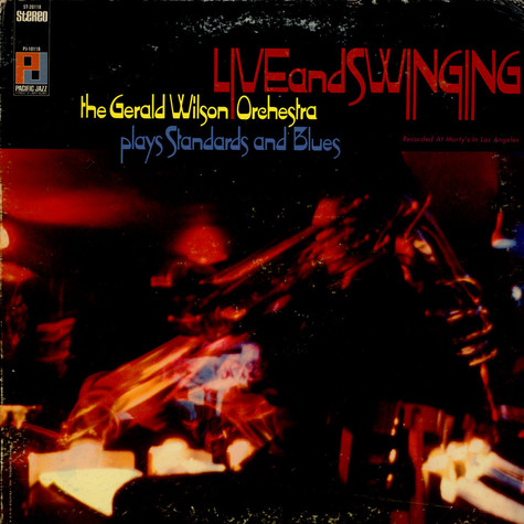 Gerald Wilson Orchestra - Live And Swinging
