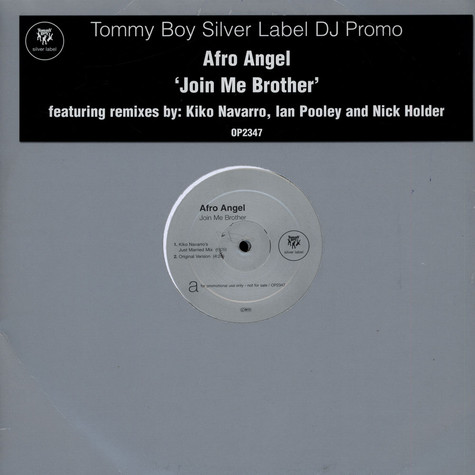 Afro Angel - Join Me Brother
