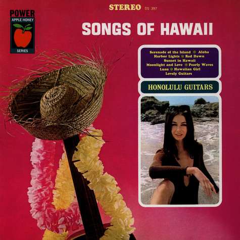 Honolulu Guitars, The - Songs Of Hawaii