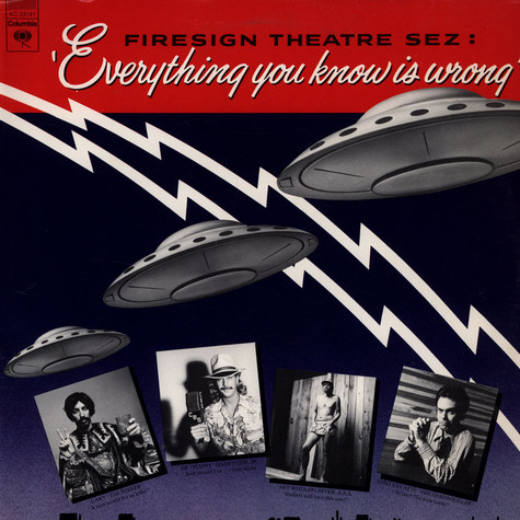 Firesign Theatre, The - Everything You Know Is Wrong