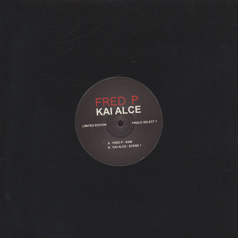 Fred P / Kai Alce - Finale Sessions Select Volume 1